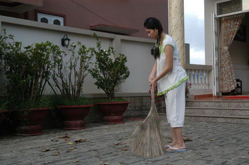 HH Nguyễn Thị Huyền làm oshin câm - 5