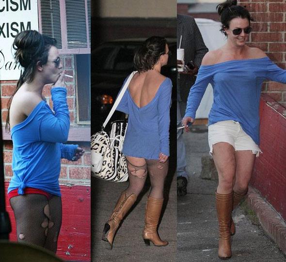 Thời trang tóc 'kinh dị' của Britney Spears - 9