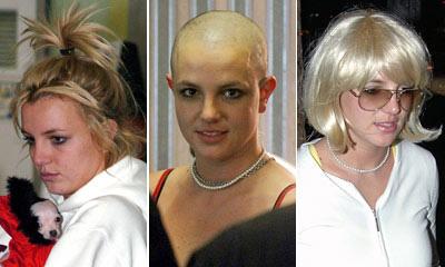 Thời trang tóc 'kinh dị' của Britney Spears - 12