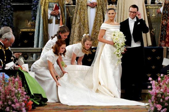Công chúa Thụy Điển diện đầm cưới hoành tráng - 1