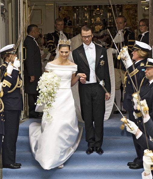 Công chúa Thụy Điển diện đầm cưới hoành tráng - 5