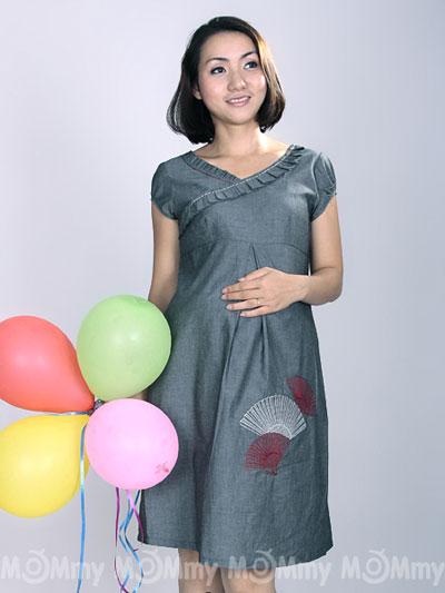 Đầm bầu Mommy: Chất liệu thoáng mát cho mùa hè - 5