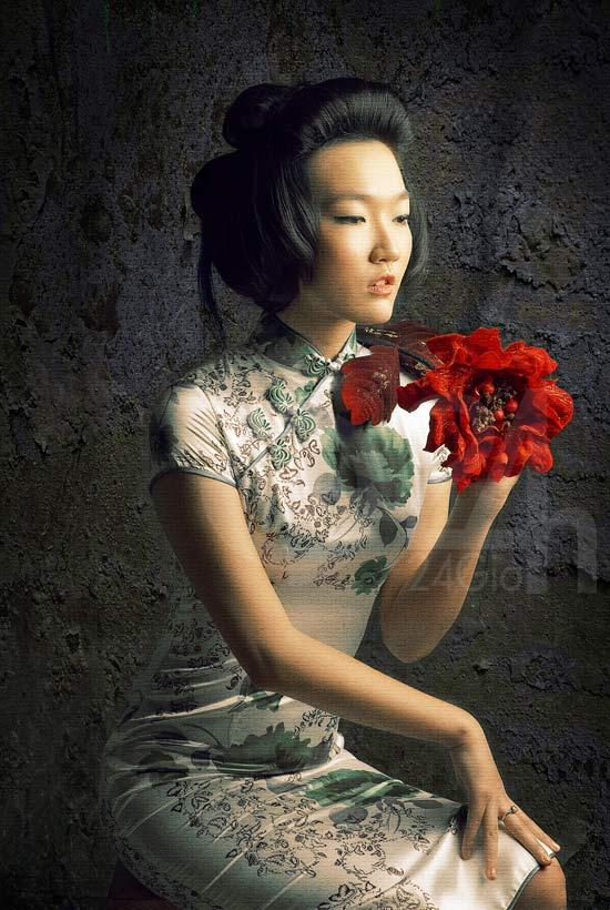Thiếu nữ Việt làm duyên bằng xường xám - 5