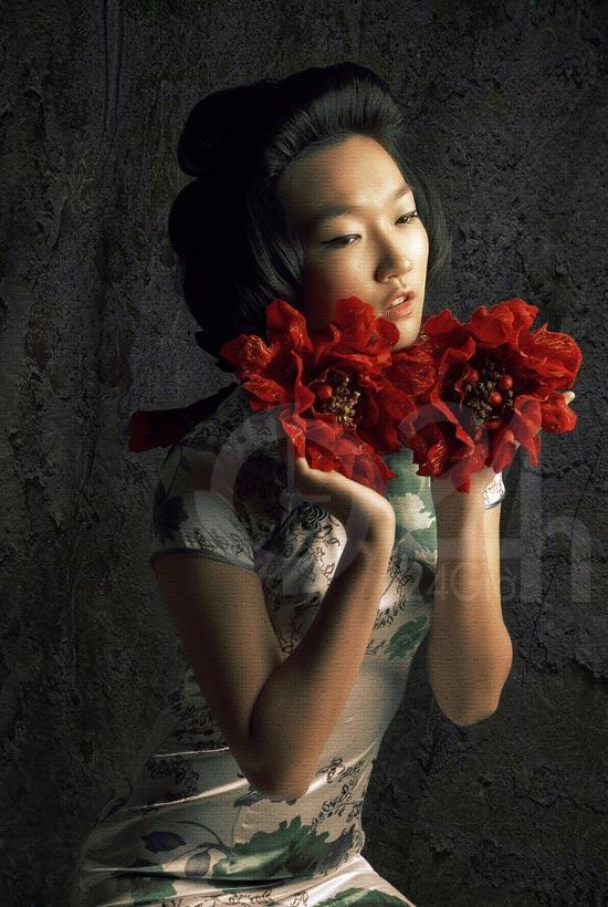 Thiếu nữ Việt làm duyên bằng xường xám - 6