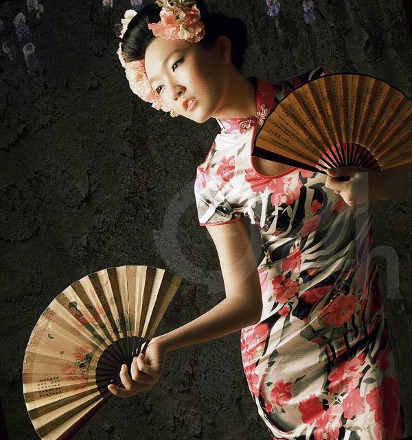 Thiếu nữ Việt làm duyên bằng xường xám - 15