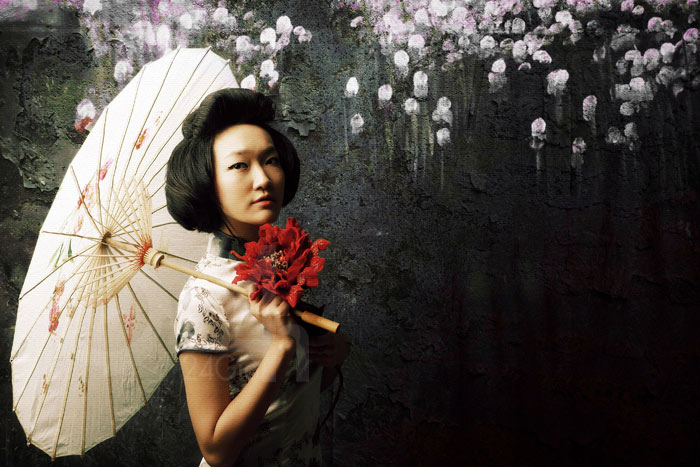 Thiếu nữ Việt làm duyên bằng xường xám - 9
