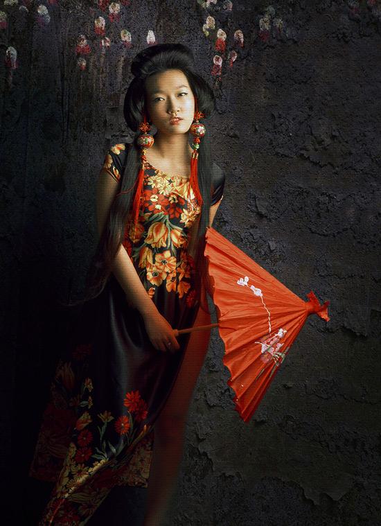 Thiếu nữ Việt làm duyên bằng xường xám - 2