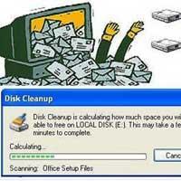 Xoá file rác trong windows bằng tay không