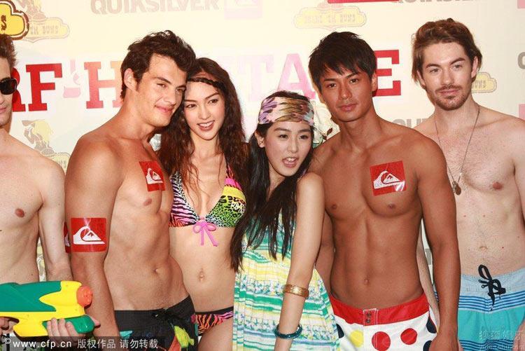 Show thời trang bikini táo bạo ở Trung Quốc - 11