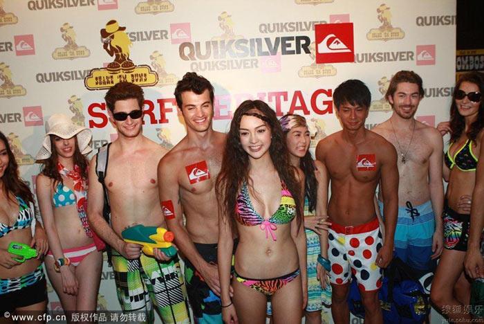 Show thời trang bikini táo bạo ở Trung Quốc - 10