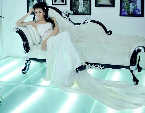 Cô dâu xinh với phong cách Kenny Thái - 1