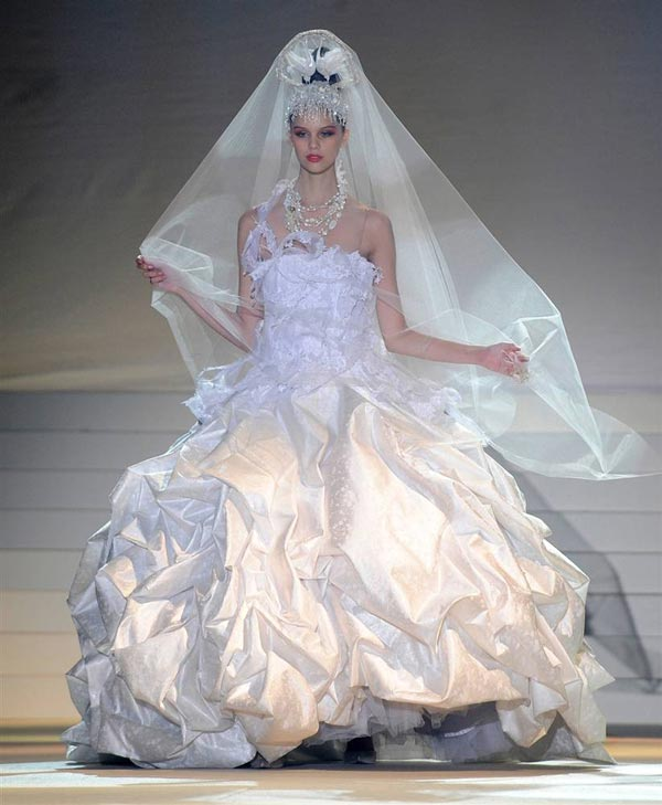20 chiếc váy cưới độc và lạ nhất thế giới - 1