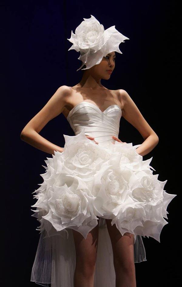 20 chiếc váy cưới độc và lạ nhất thế giới - 13