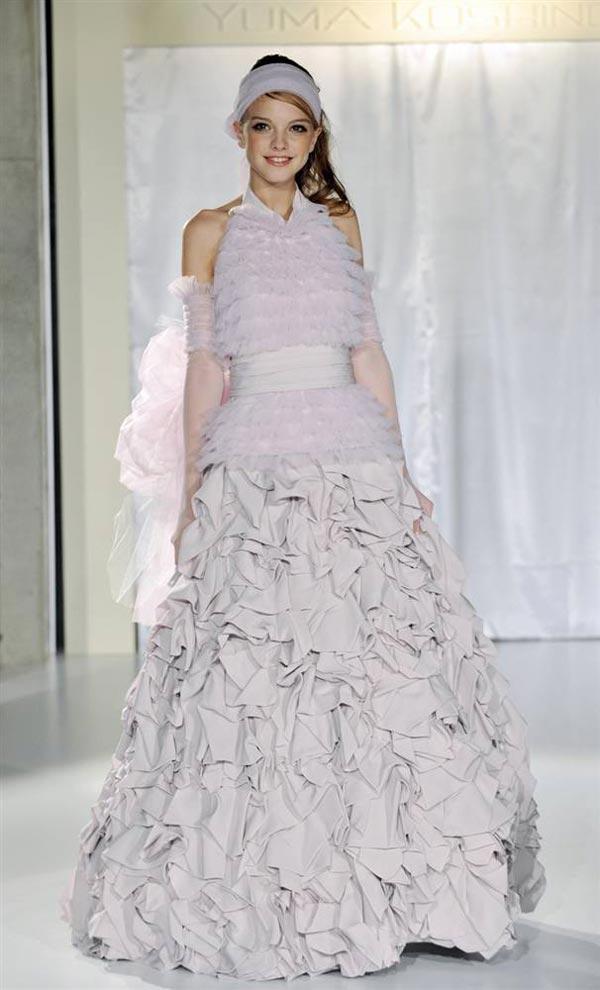 20 chiếc váy cưới độc và lạ nhất thế giới - 14