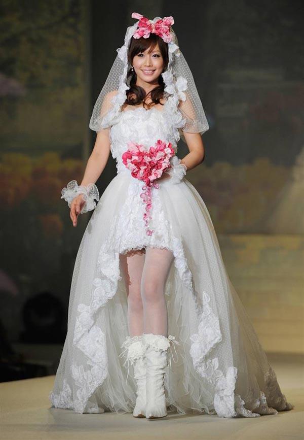 20 chiếc váy cưới độc và lạ nhất thế giới - 16