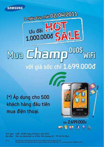 Samsung Champ Duos - Điện thoại năng động cho người giao thiệp rộng - 4