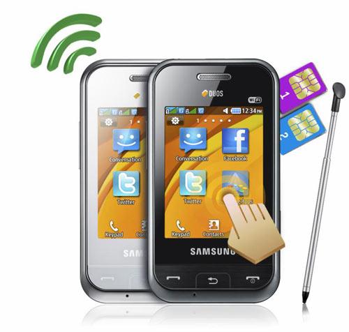 Samsung Champ Duos - Điện thoại năng động cho người giao thiệp rộng - 3