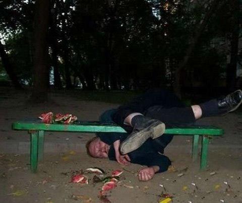 Những pha say xỉn khó đỡ - 2