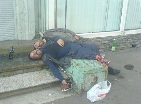 Những pha say xỉn khó đỡ - 3