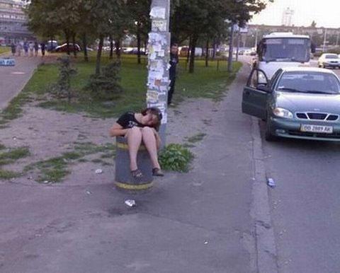 Những pha say xỉn khó đỡ - 6