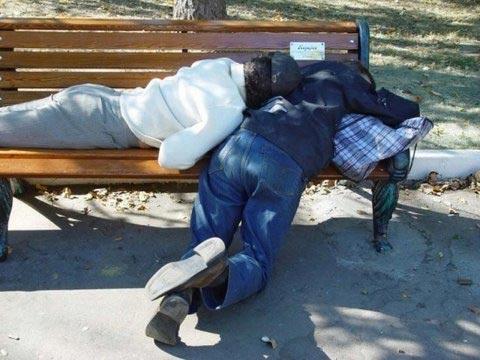 Những pha say xỉn khó đỡ - 4