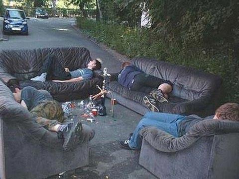 Những pha say xỉn khó đỡ - 13