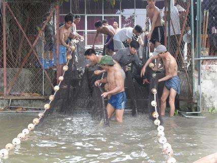 Chùm ảnh: Diễn tập nước rút bắt Cụ Rùa - 1
