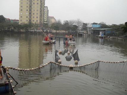 Chùm ảnh: Diễn tập nước rút bắt Cụ Rùa - 9
