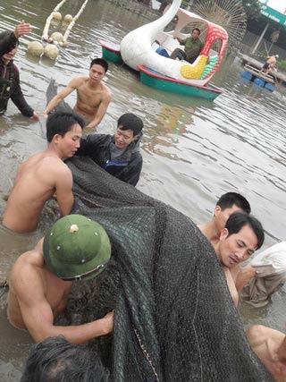 Chùm ảnh: Diễn tập nước rút bắt Cụ Rùa - 4