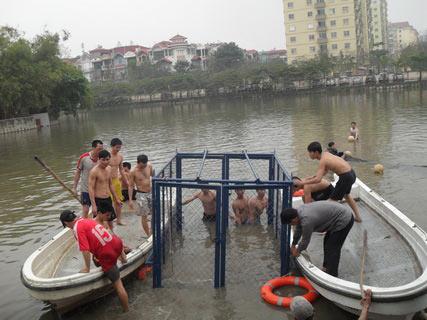Chùm ảnh: Diễn tập nước rút bắt Cụ Rùa - 5