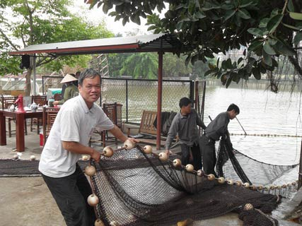 Chùm ảnh: Diễn tập nước rút bắt Cụ Rùa - 8