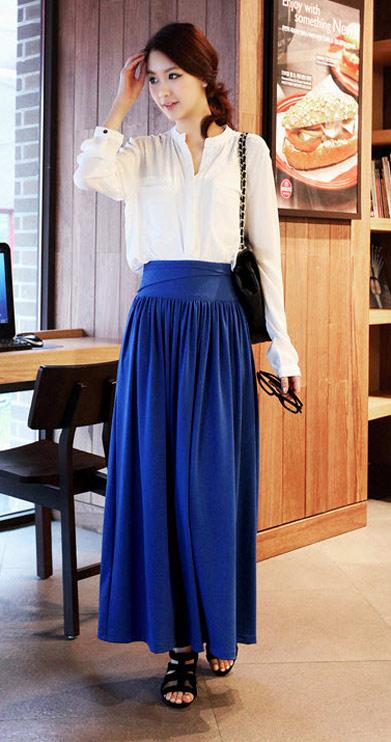 Sơ mi + váy = Cô nàng công sở hoàn hảo - 10