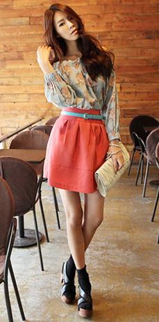 Sơ mi + váy = Cô nàng công sở hoàn hảo - 3