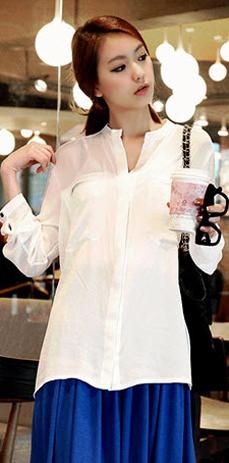 Sơ mi + váy = Cô nàng công sở hoàn hảo - 11