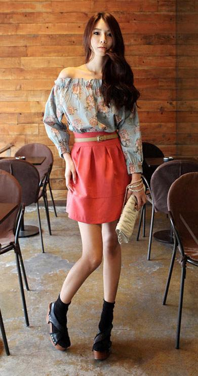 Sơ mi + váy = Cô nàng công sở hoàn hảo - 2