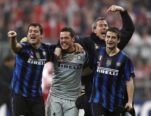 """Inter: """"Khắc tinh"""" của các đội bóng Đức - 1"""