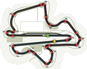 Lịch thi đấu F1: Malaysian GP 2011 - 1