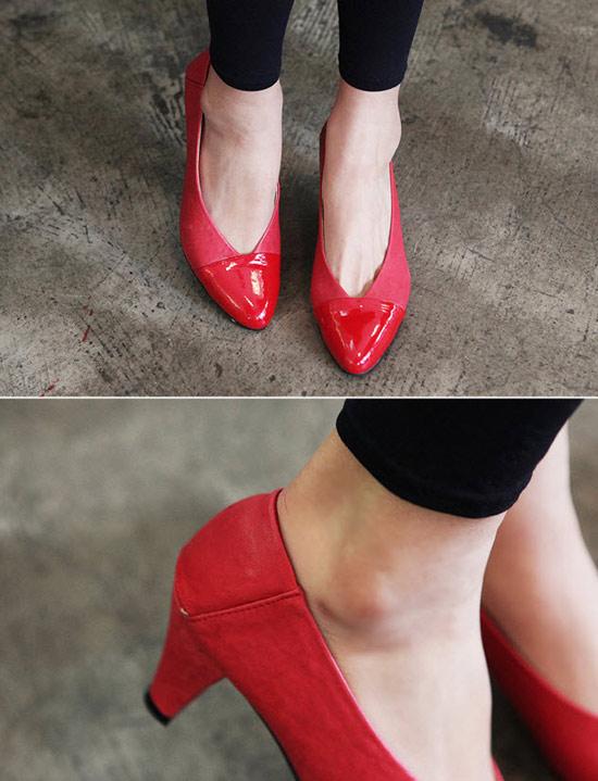 Xuống phố duyên dáng với giày búp bê - 17