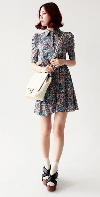 Váy hoa có dễ mặc như bạn tưởng? - 13