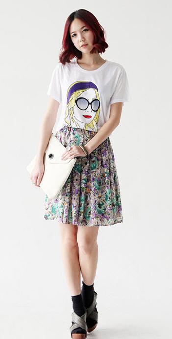 Váy hoa có dễ mặc như bạn tưởng? - 10