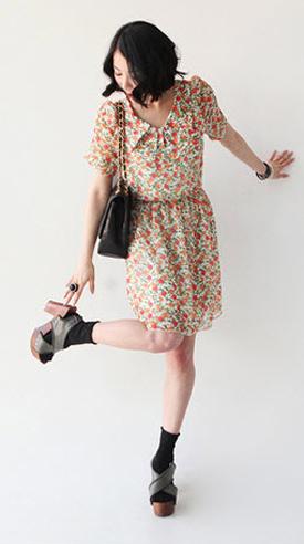Váy hoa có dễ mặc như bạn tưởng? - 17