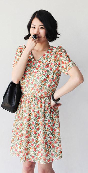 Váy hoa có dễ mặc như bạn tưởng? - 19