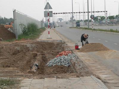 Chùm ảnh: Nhếch nhác đại lộ đẹp nhất Tp HCM - 12