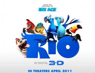 """""""Rio"""": Phim hoạt hình vui nhộn 3D chính thức ra mắt - 1"""