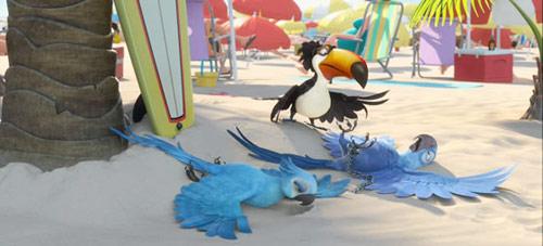 """""""Rio"""": Phim hoạt hình vui nhộn 3D chính thức ra mắt - 4"""