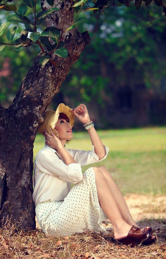 Huyền Trang kết tóc bím đáng yêu - 3