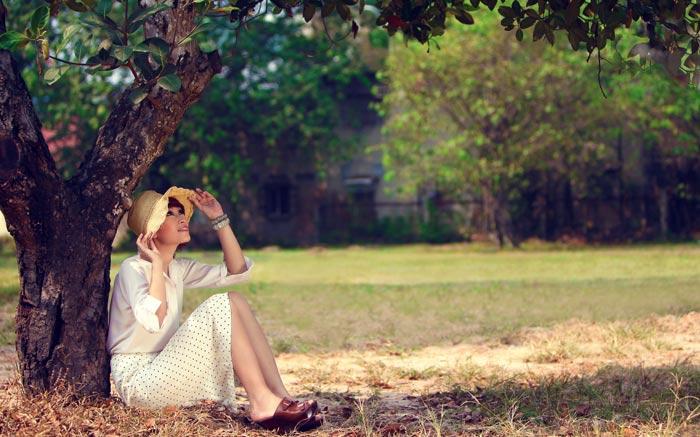 Huyền Trang kết tóc bím đáng yêu - 4