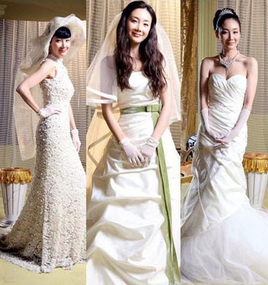 Sao Hàn nào diện váy cưới lộng lẫy nhất? - 6