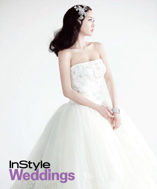 Sao Hàn nào diện váy cưới lộng lẫy nhất? - 14