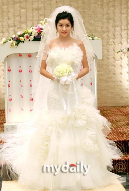 Sao Hàn nào diện váy cưới lộng lẫy nhất? - 20